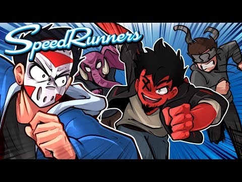 Speed Runners - I AM THE FASTEST IN THE LANDS!!!! (With friends)