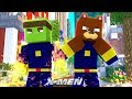 Minecraft X-MEN - GETTING OUR X-MEN SUITS!!!