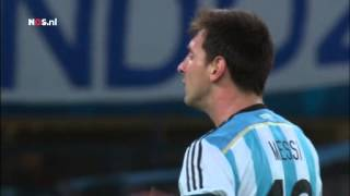 Argentinië - Bosnië en Herzegovina op muziek   WK Voetbal 2014