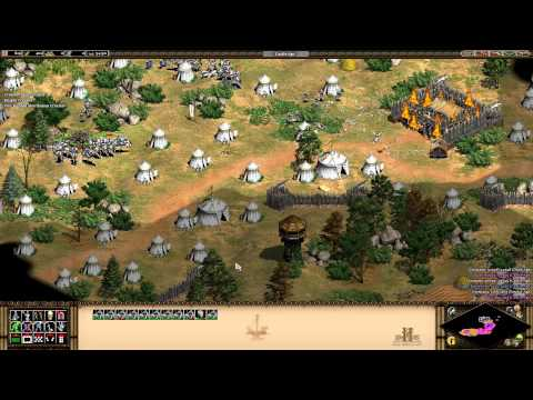 Age of Empires 2 HD The Forgotten - Bari - The Great Siege Walkthrough