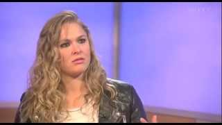 Ronda Rousey on fighting a man