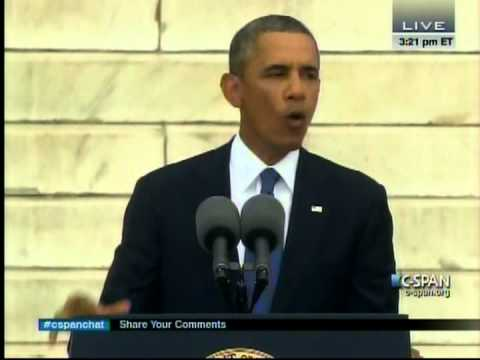 President Obama Speaks at the 50th Anniversary of the March on Washington