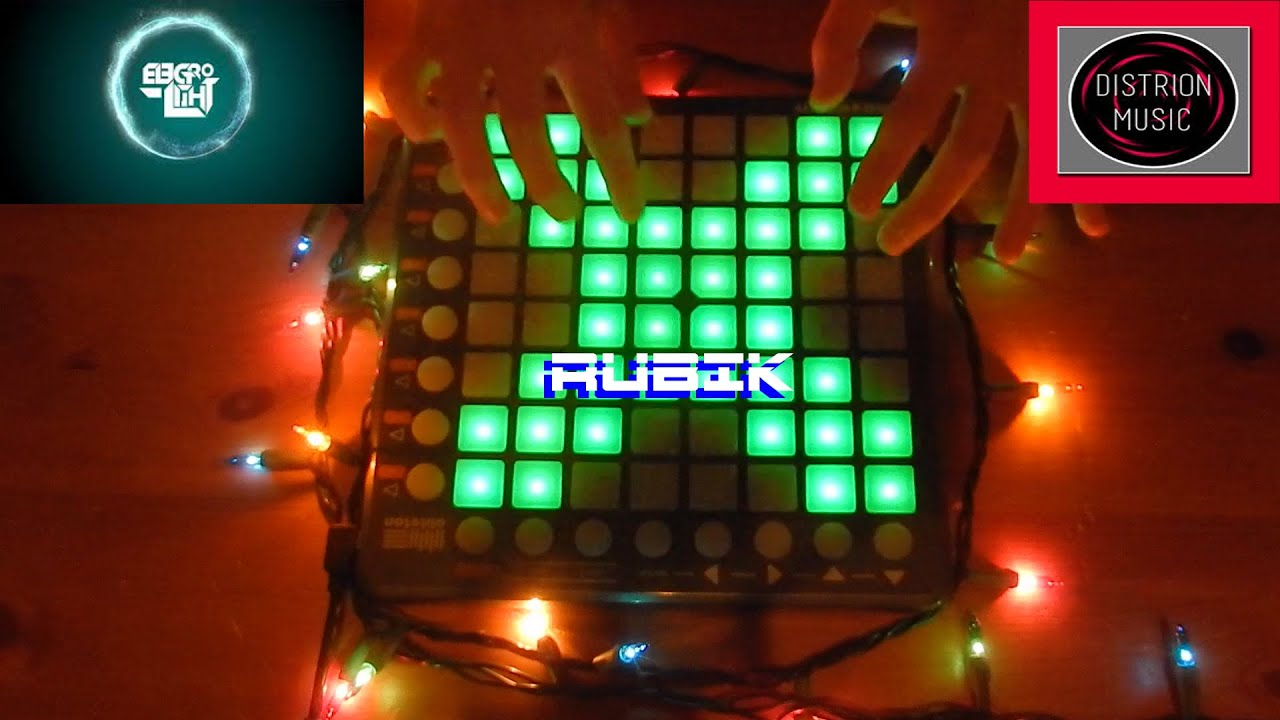 Distrion Electro Light Rubik Launchpad Cover Youtube