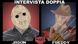 JASON VS FREDDY KRUGER - INTERVISTA DOPPIA