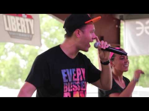 """Barnabas & Amy T perform """"Patiently Wait"""" at CreationNW 2014"""
