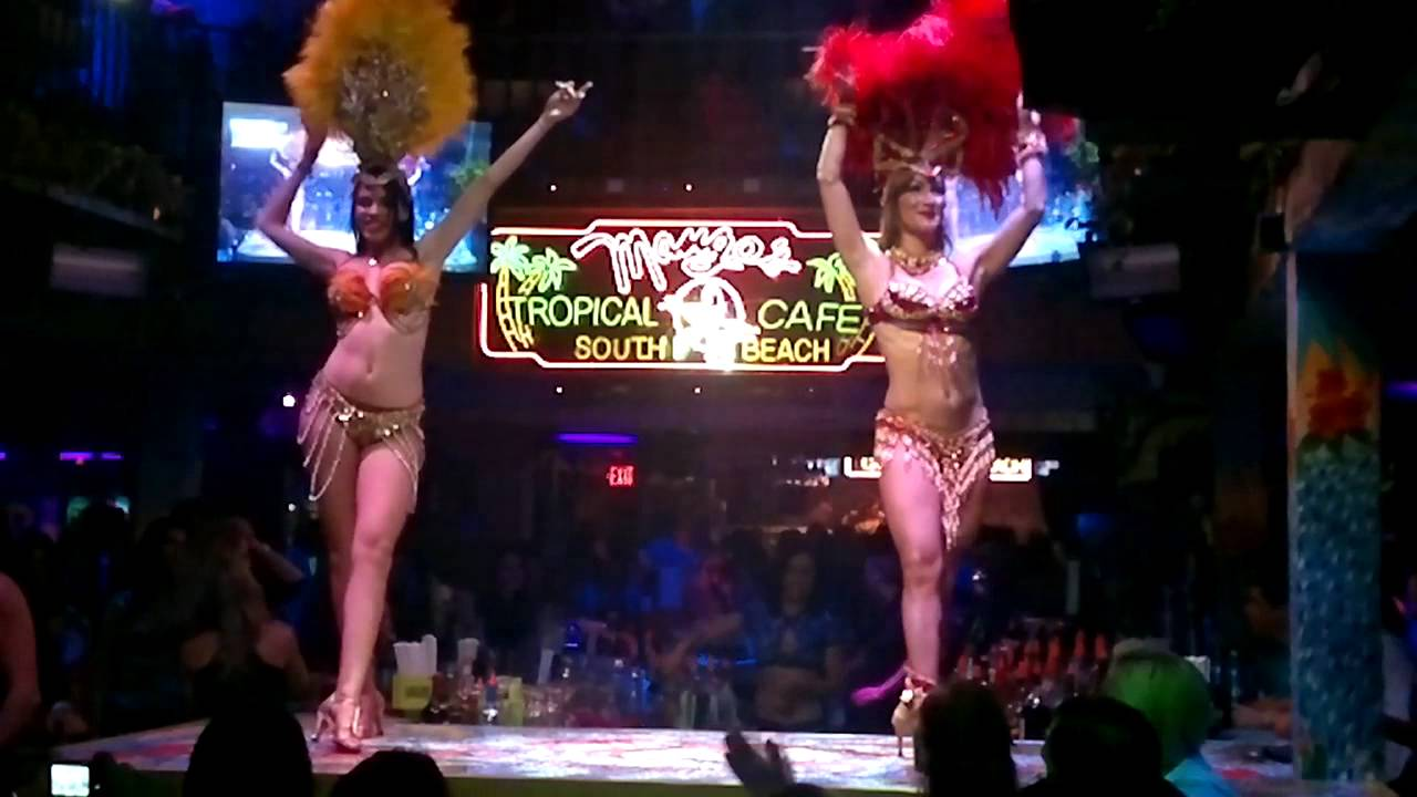 Brazilian Dancers At Mangoes South Beach Miami March 2017