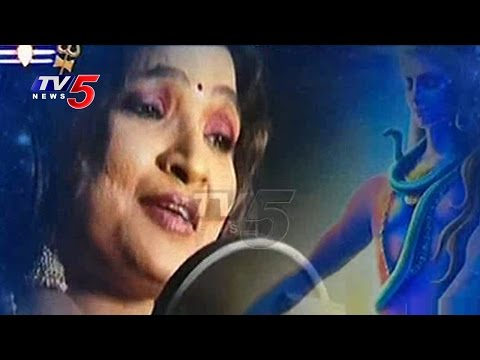 Singer Vijayalakshmi Breathless Song for Lord Shiva | Maha Shivaratri Special | TV5 News