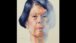 Cómo pintar un retrato a la acuarela. - How to paint a watercolor portrait.
