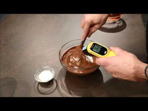Tempérage du chocolat au lait