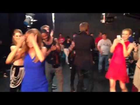 Jane Seymour Dancing on set of High Strung #ROCKON