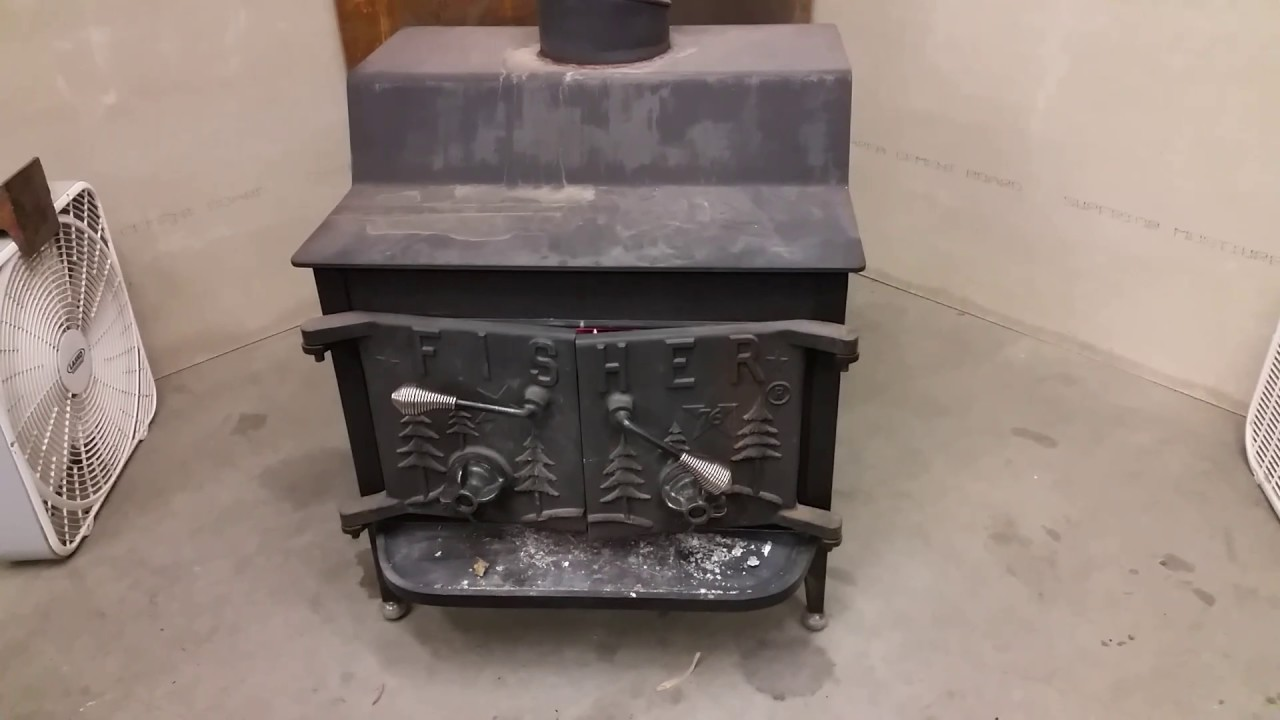 Fisher Grandpa Wood Stove 1976 - Fisher Grandpa Wood Stove 1976 - YouTube