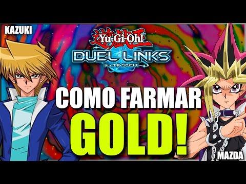 DICA: COMO FARMAR GOLD! Yu-Gi-Oh! Duel Links