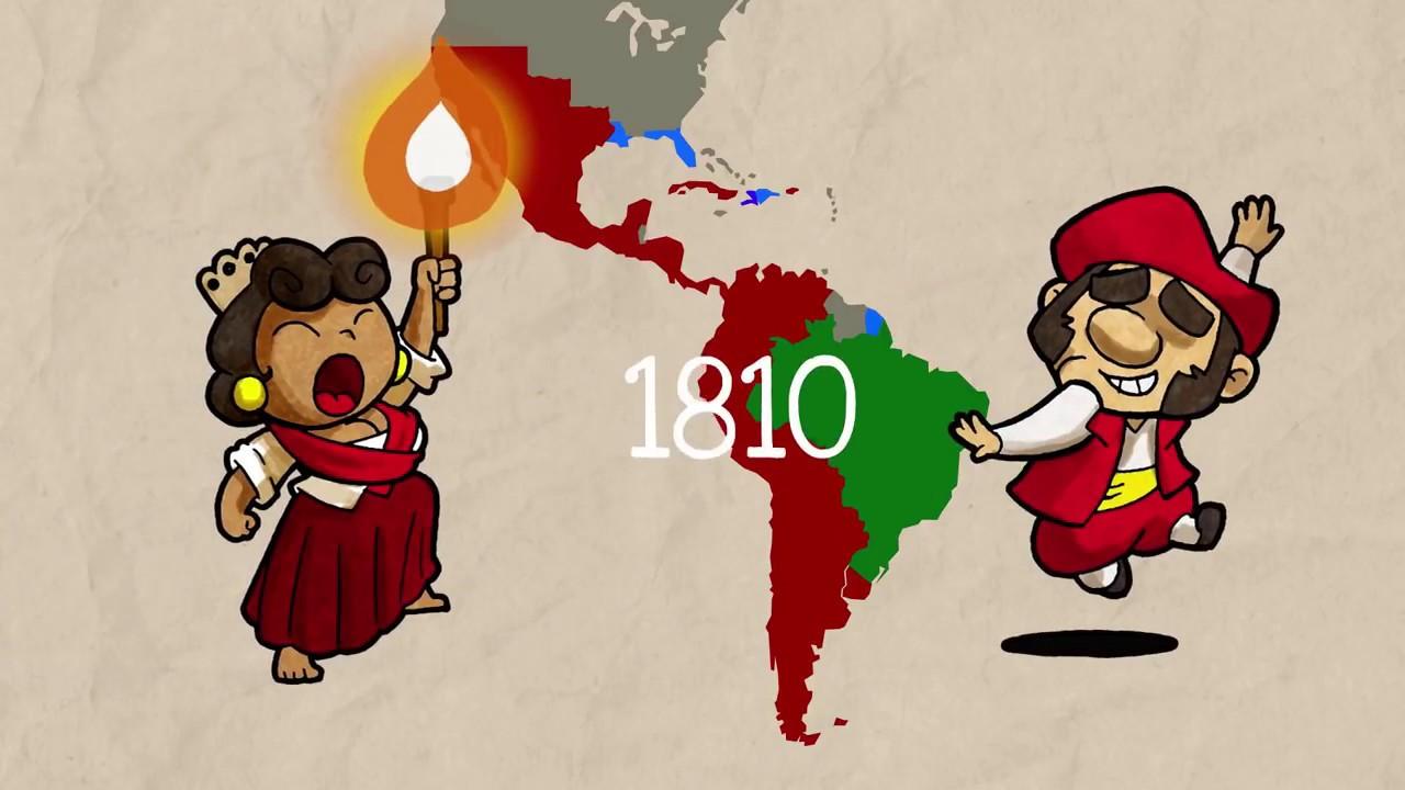 La independencia Hispanoamericana para niños