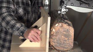 Bandsaw Log Cutting Jig   Part 2