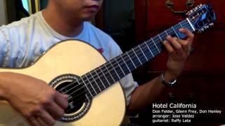Hotel California - Eagles (arr. Jose Valdez) Solo Classical Guitar