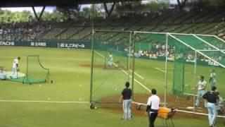 2010年6月10日 西武ドーム セ・パ交流戦 ライオンズvsタイガース バッセ...