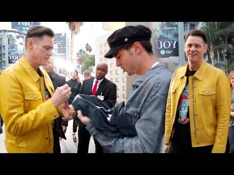 KIAN AND I MEET JIM CARREY!! (BEST DAY EVER)