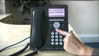 Adjusting ringer & speaker volume & changing the ringtone - Avaya IP Office 96 series telephone