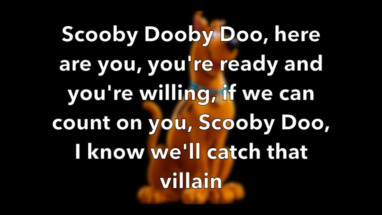 Download Best Coast Scooby Doo Theme Song (From SCOOB!) (Lyric Video With Scooby Doo Pic)