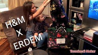 Коллаборация H&M ERDEM Распаковка