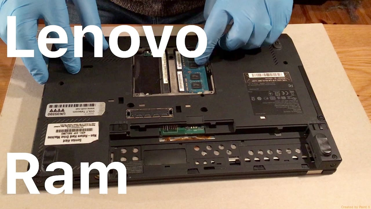 How To Upgrade the Ram in a Lenovo ThinkPad