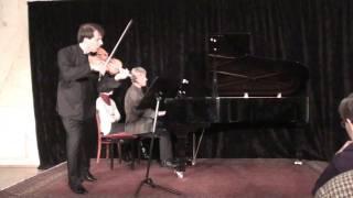 J.Brahms, Violin Sonata No.1, Op.78, Allegro molto moderato