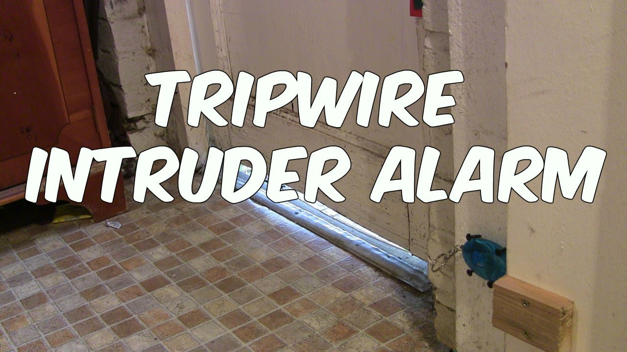 Download How to Make a  Tripwire Intruder Alarm