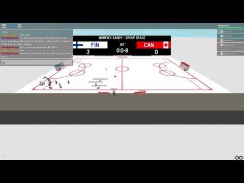 SWG Women's Bandy - Finland vs Canada
