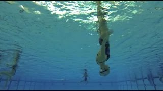 Александра Пацкевич | Cинхронное плавание под водой (эпизод)