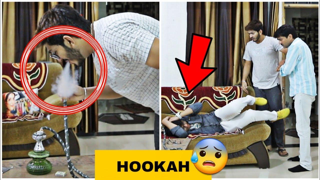 HOOKAH PRANK ON INDIAN DAD ? // GONE WRONG ❌ // SKATER HIMANSHU