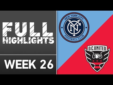 HIGHLIGHTS | New York City FC 3-2 D.C. United