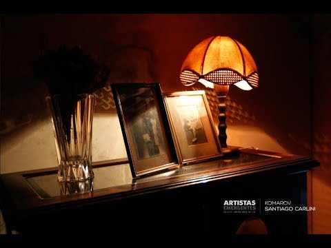 """Se inauguró """"Komarov"""" de Santiago Carlini"""