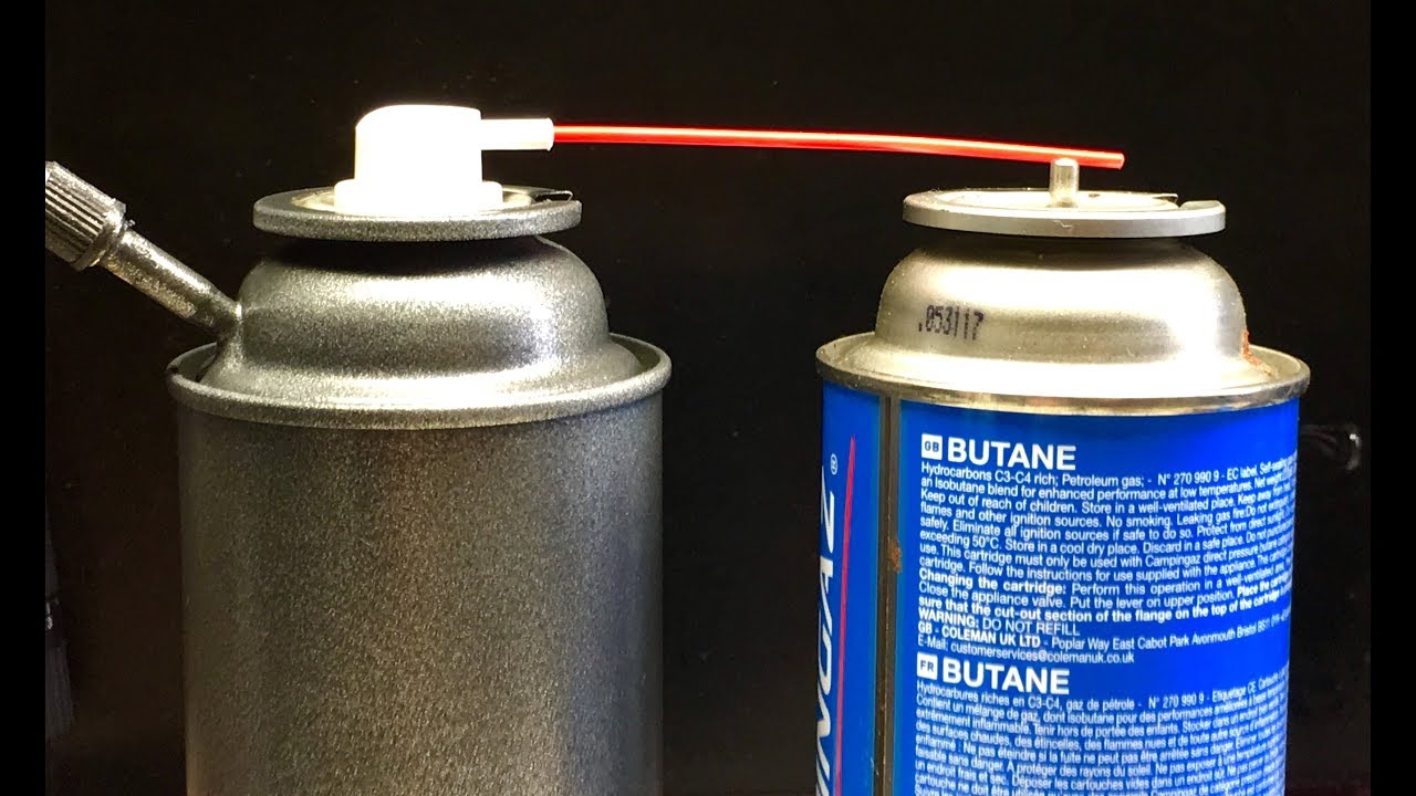 Make A Refillable Aerosol Spray Paint Or Butane Can Hackfabriquons