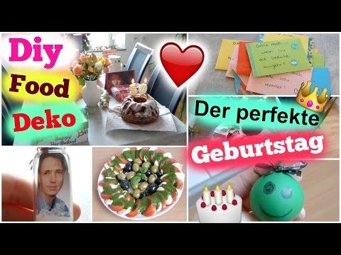 DER PERFEKTE GEBURTSTAG - DIY GESCHENKIDEE, DEKOIDEEN, TIPPS & INSPIRATIONEN