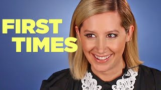 Ashley Tisdale Tells Us About Her First Times Video