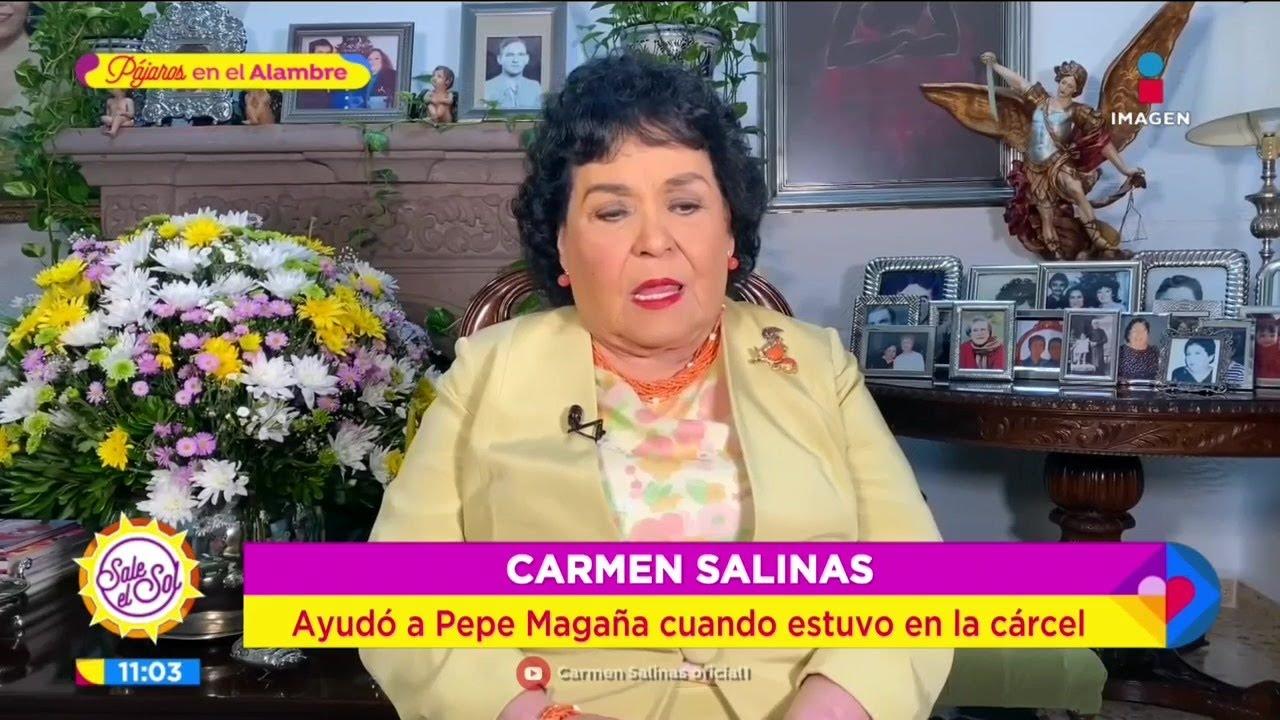 ¡Carmen Salinas recuerda cuando metieron a Pepe Magaña a la cárcel! | Sale el Sol