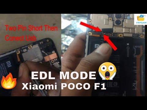 Xiaomi POCO F1 EDL MODE ?