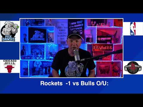 Houston Rockets vs Chicago Bulls 2/22/21 Free NBA Pick and Prediction NBA Betting Tips