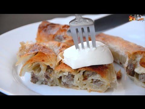Burek (motani) na Pekarski način - Sašina kuhinja
