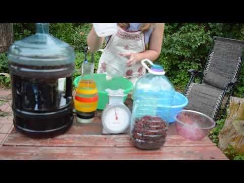Домашнее вино из ягод - пошаговый рецепт с фото