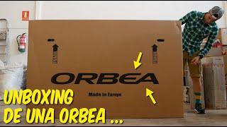 UNBOXING DE UNA BICICLETA ORBEA (VÍDEO RECORTADO) | DANIEL RACE