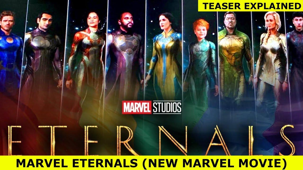Download Marvels Eternals   New Superhero Movie   Teaser Breakdown & Storyline Explained By NerdFlix