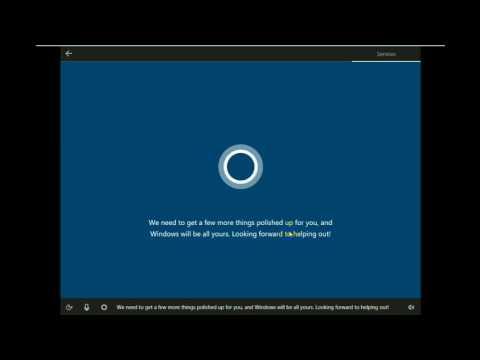 Install Windows 10 v 1703 OS Build 15058