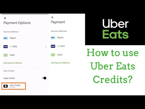uber eats payment options
