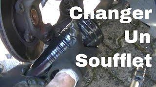 Changer un soufflet de cardan sans démonter le joint