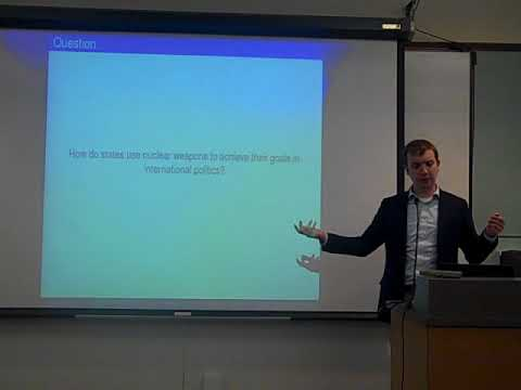 PART 1 Freeman Seminar: Nuclear Weapons and Foreign Policy - Prof. Mark Bell