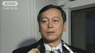【北砲撃】「6カ国会合は不適切」斎木外務省局長(10/12/01)