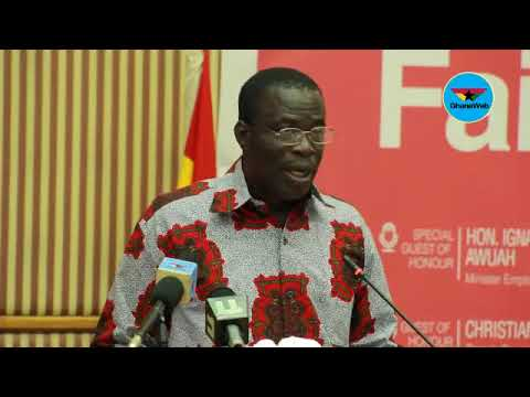 Stay in Ghana and build the nation - Employment Minister to graduate youth