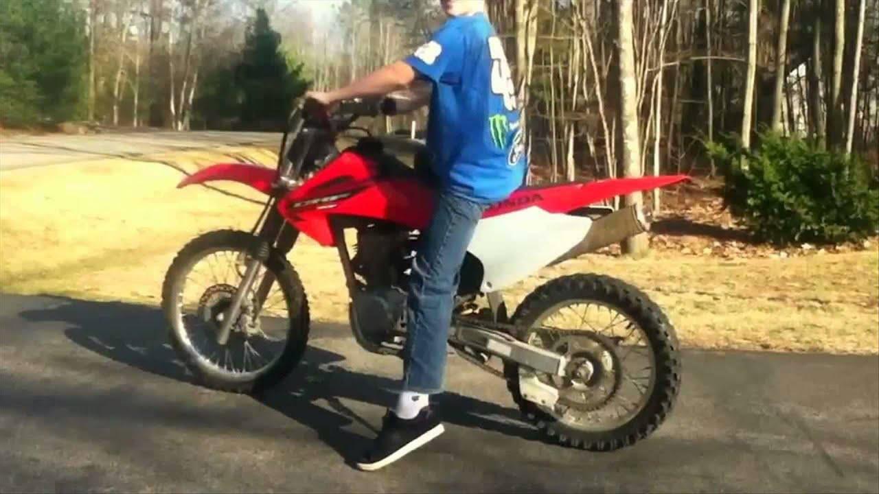 Honda Crf150f Youtube