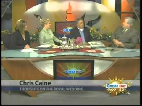 Attorney Christopher Caine   Royal Wedding   YouTube